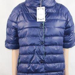 Kısa kollu demi sezonu ile yeni ceket
