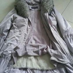 Pekhora with natural fur, universal.