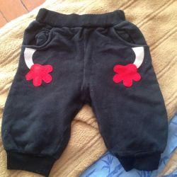 Bir erkek için sıcak pantolon