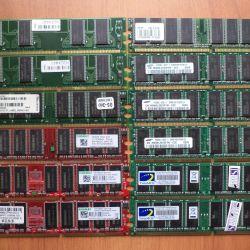 DDR400 memory modules 256 512 MB