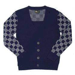 New blue checkered jacket for school 152-158 height