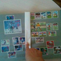 Марки почтовые гашеные и негашенные