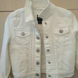 New gap jeans jacket
