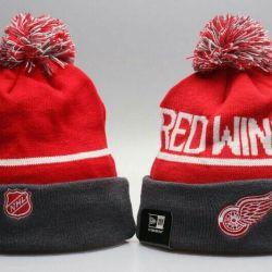 Buz Hokeyi Cap NHL Detroit Red Wings