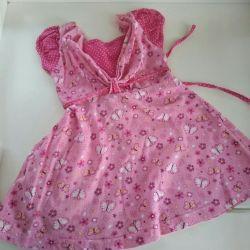 1-1.5 yaş kız elbisesi