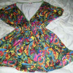 Bluză multicolore