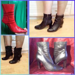 Ayak bileği botları farklıdır. Pp 36-38.