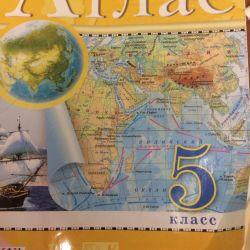 Geography. Atlas Grade 5