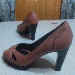 Pantofi cu căptușeală deschisă