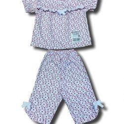 New Pajamas with a yoke (breeches).
