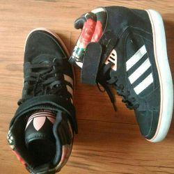 Suede adidas wedge sneakers original.