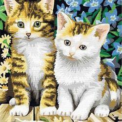 Εικόνα σύμφωνα με τους αριθμούς 30/40 Χαριτωμένα γατάκια