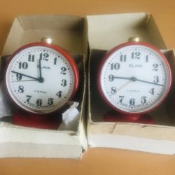 New alarm clock SLAVA, made in Russia