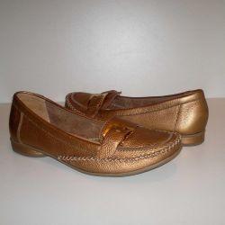 Moccasins 38 r Genuine leather