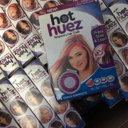 Hair Crayons Hot-Huez