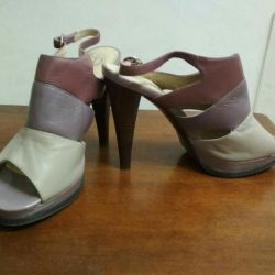 Sandals are new. Genuine Leather. Size 39