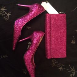 Shoes and Clutch