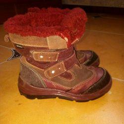 Winter leather boots Kotofey