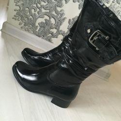 Нові зимові чоботи натуральні