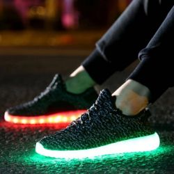 Sneakers with LEDs