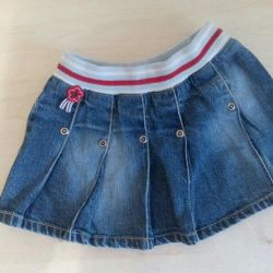 Юбка джинсовая 1-3г.