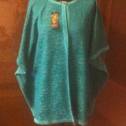Jacheta guipure (dantelă) pe broșă