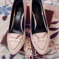 Shoes.Natural leather.D, ORO.Novye.35raz.