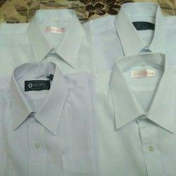 5 λευκά πουκάμισα για μαθητάκια και παντελόνια