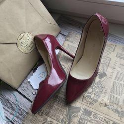 Bordeaux shoes 33r New !!