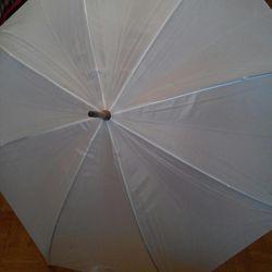 Noul alb umbrelă de trestie albă (Turcia)