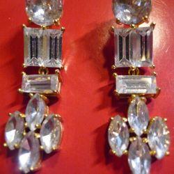 Rhinestone Crystal Earrings