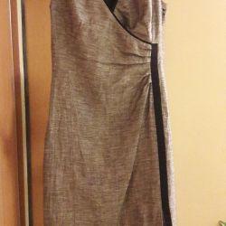 Платье 44-46 размер S'Oliver натуральная ткань