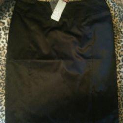 Стильная лощеная юбка карандаш новая
