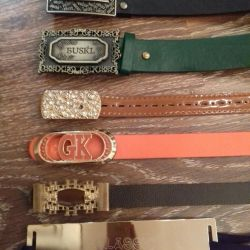 I will sell belts