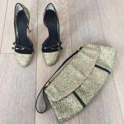Shoes and clutch Zanotti original 37