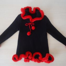 Bluză tunică (Franța), soluție 104-110