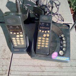 Telefon radio cu receptor suplimentar