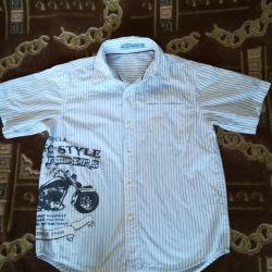 New shirt for a boy