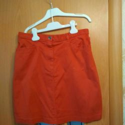 American denim skirt