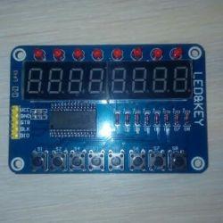 TM1638 LED & KEY display module and keypad