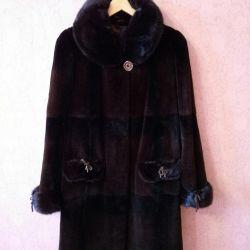 Fur-beaver fur coat (48-50)