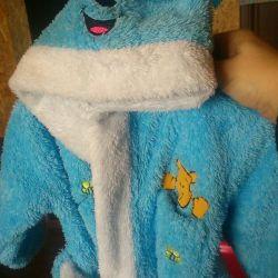 Μπουρνούζι ζεστό για το μωρό