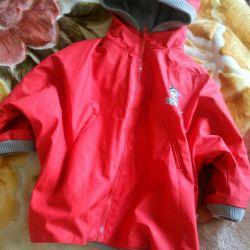 Jacket rubberized spring