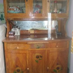 Sideboard is old