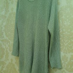 Sweater light from lurex silver 48-50