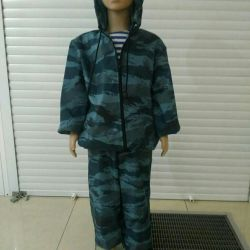 Waterproof suit (for children from 3 to 16 years)