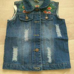 New baby waistcoat
