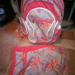 Rucsac și geantă pentru schimbare