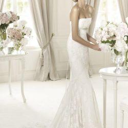 Rochie de nunta si voal Pronovias, original