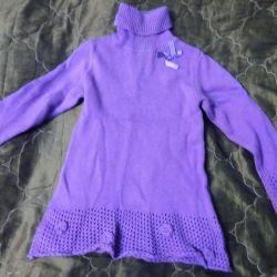 Warm dress for a girl f. futurino 1-3 years